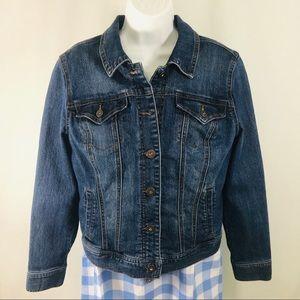 Style & Co Denim Jacket. Size M EUC